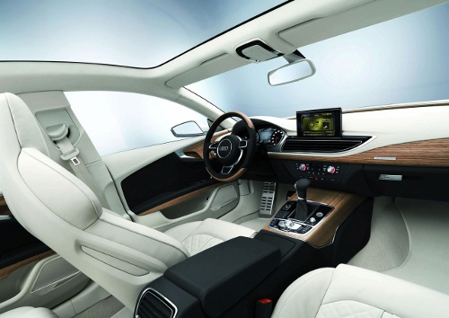 Audi a7 sportback ou la berline allemande de luxe blog for Audi interieur onderdelen