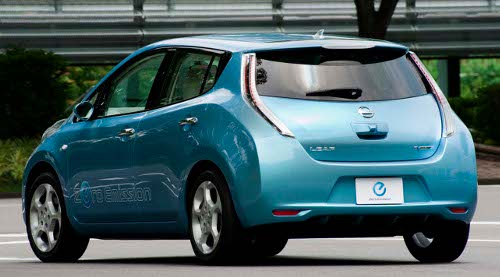 une voiture 100 lectrique nissan leaf blog. Black Bedroom Furniture Sets. Home Design Ideas