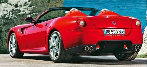 ferrari 599 fiorano spyder une voiture venue de l olympe blog. Black Bedroom Furniture Sets. Home Design Ideas