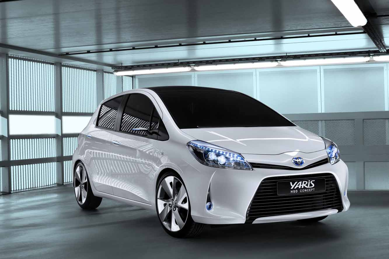 toyota yaris hsd concept citadine hybride blog. Black Bedroom Furniture Sets. Home Design Ideas