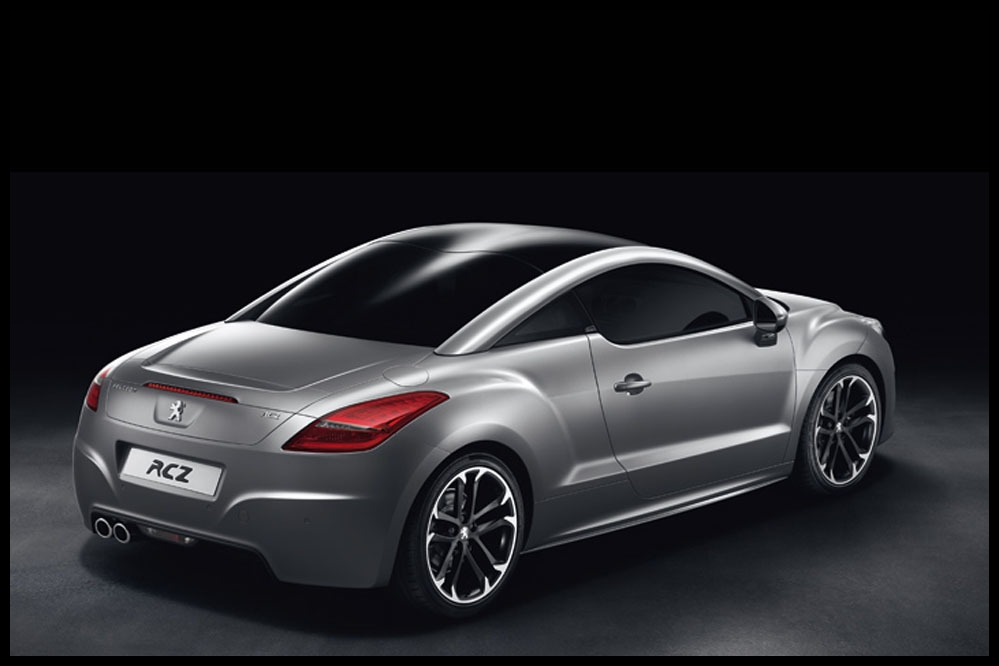 peugeot rcz en finition gris mat encore plus sportif. Black Bedroom Furniture Sets. Home Design Ideas