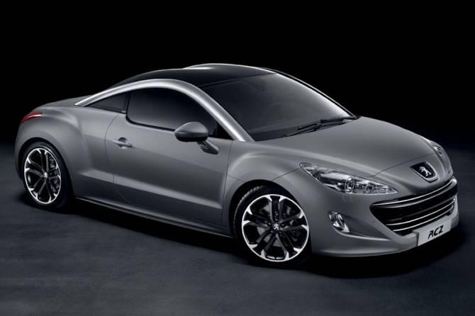 Peugeot Rcz En Finition Gris Mat Encore Plus Sportif Blog