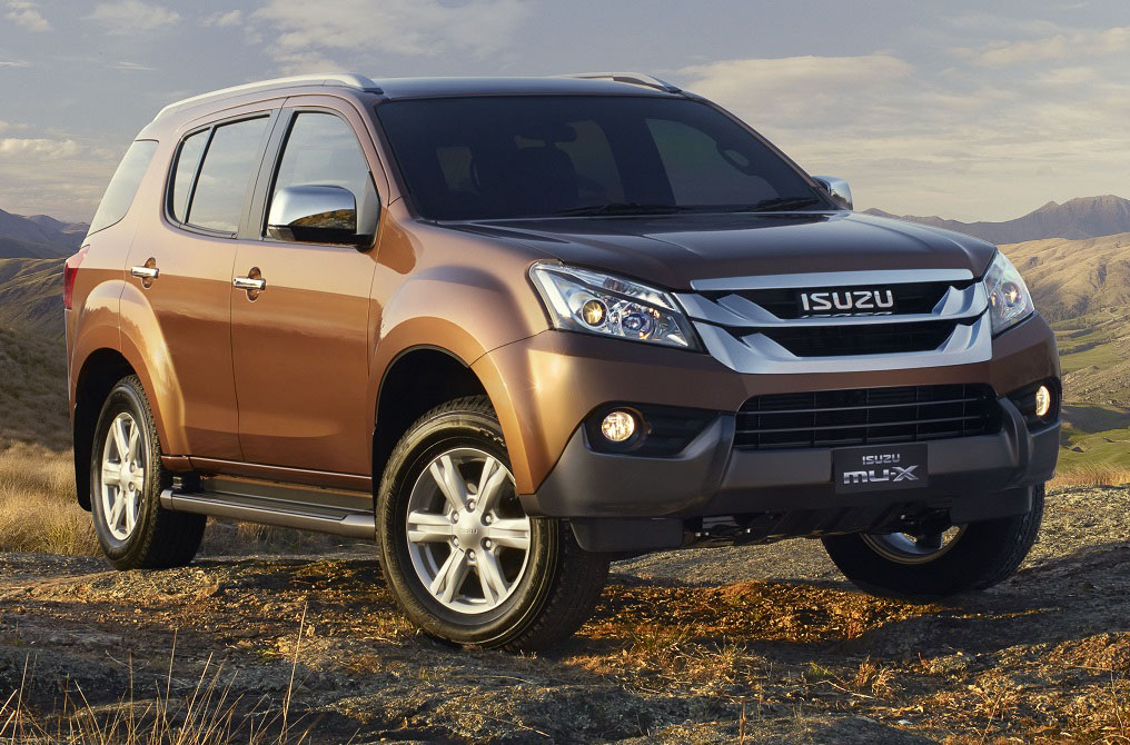 All New Isuzu Mu 7 2014 Autos Weblog Pictures to pin on Pinterest