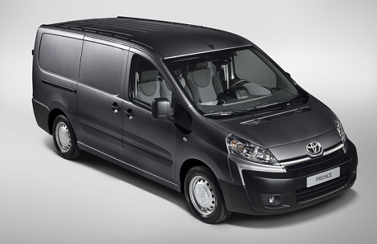 toyota proace lancement d un nouvel utilitaire blog. Black Bedroom Furniture Sets. Home Design Ideas