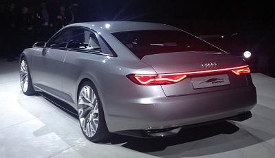 Audi A9 Concept Interior