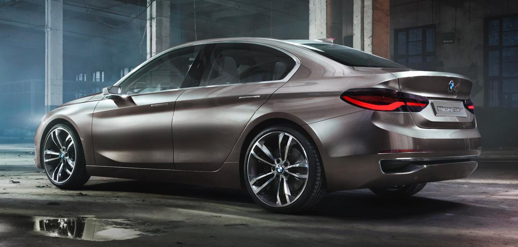 BMW Compact Sedan Concept - blog Kidioui.fr