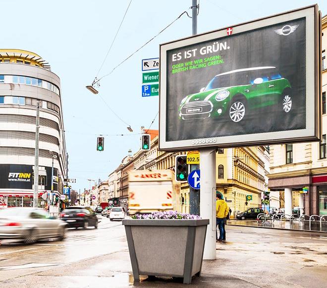 Panneau publicitaire mini auto achat voiture news for Panneau publicitaire garage automobile