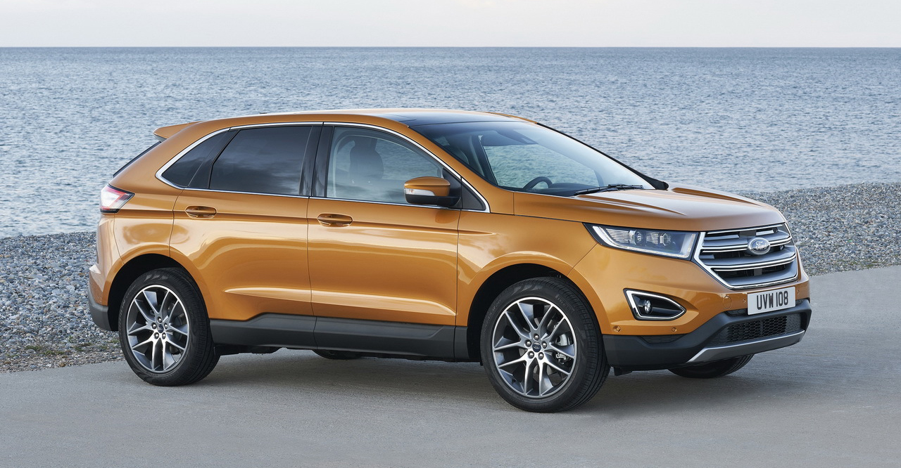 le nouveau ford edge d barque en france blog