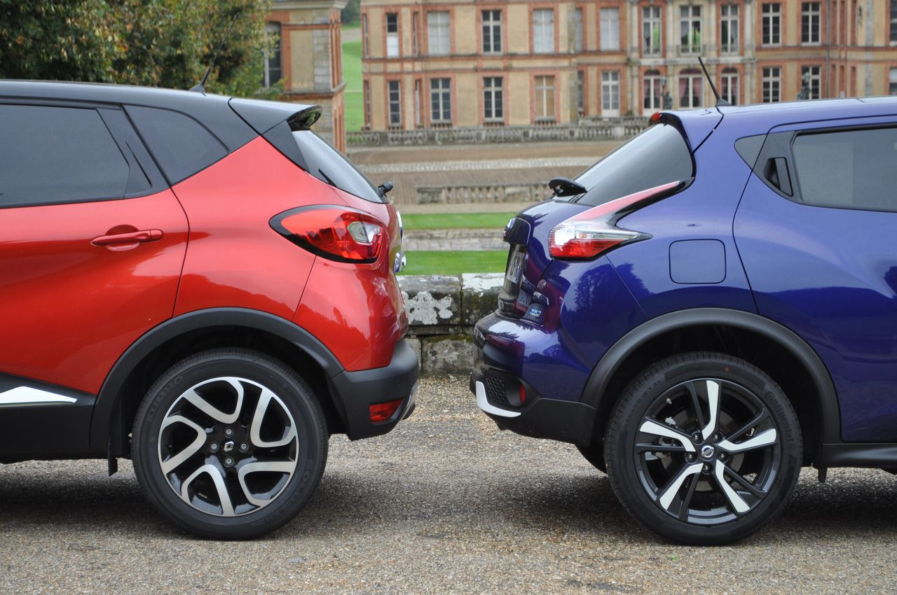 combat de prix renault captur vs nissan juke blog. Black Bedroom Furniture Sets. Home Design Ideas