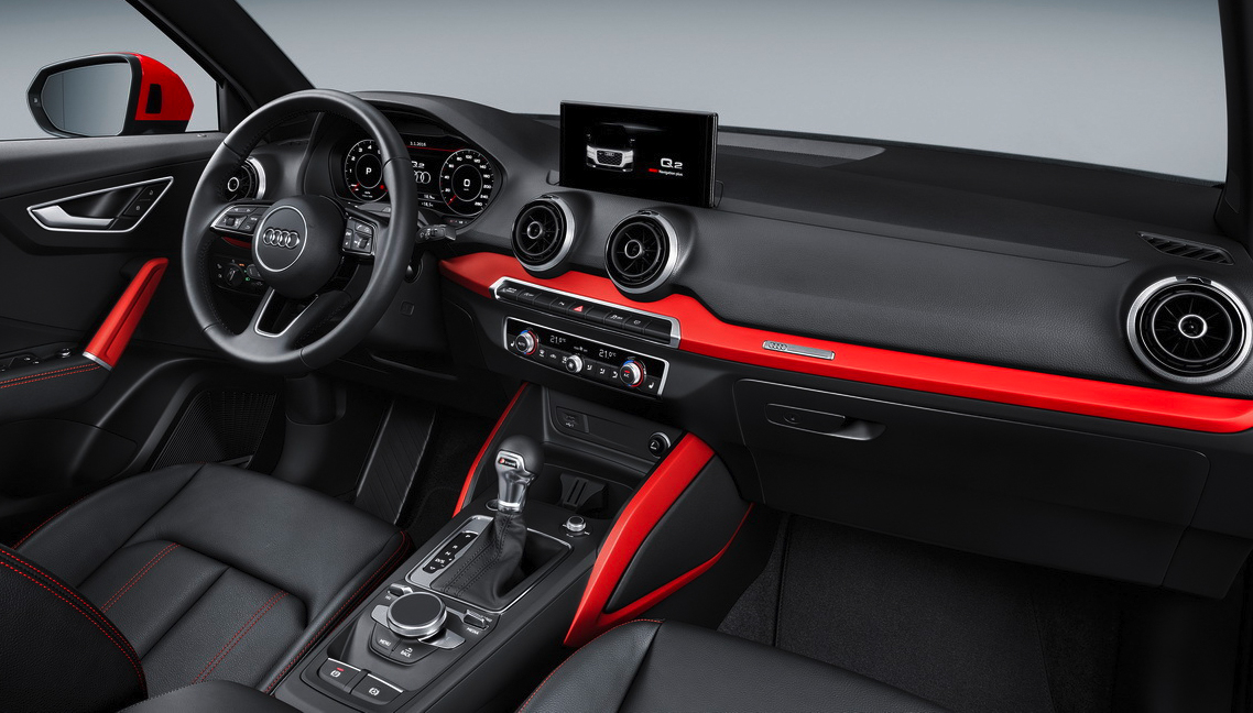 Audi q2 le petit suv premium blog for Interieur q2