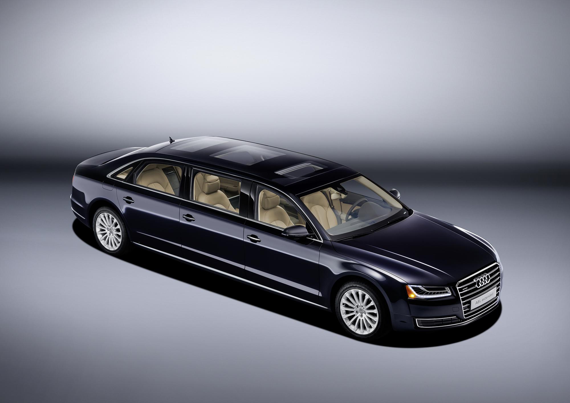 Audi A8 Limousine >> Audi A8 L extended : la limousine 6 portes - blog Kidioui.fr