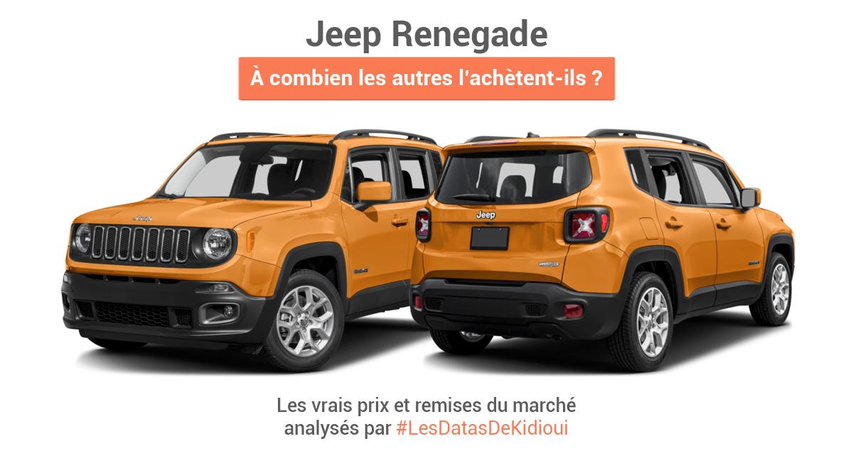 quel est le vrai prix du jeep renegade blog. Black Bedroom Furniture Sets. Home Design Ideas
