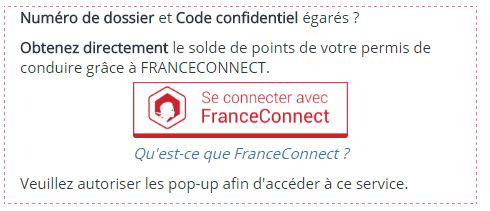 consulter les points de son permis avec franceconnect blog. Black Bedroom Furniture Sets. Home Design Ideas