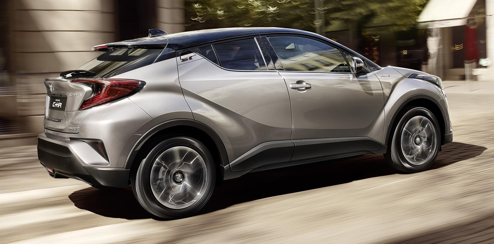 Toyota C-HR : c'est parti ! - blog Kidioui.fr