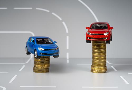 gamme de prix voiture neuve