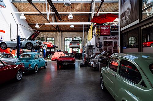 garage voiture neuve