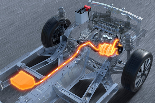 voiture neuve micro-hybride