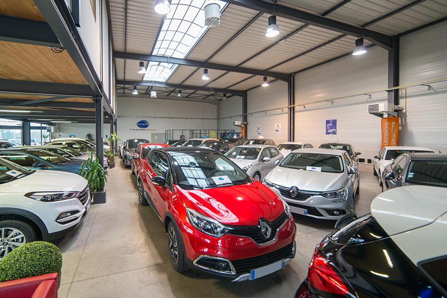 Showroom d'Activ Automobiles