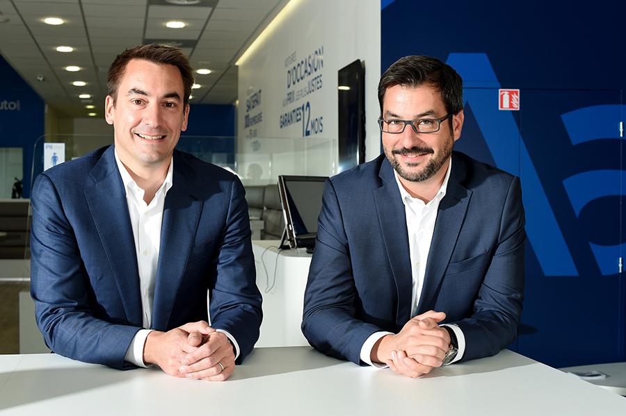 Les deux fondateurs d'Aramis Auto