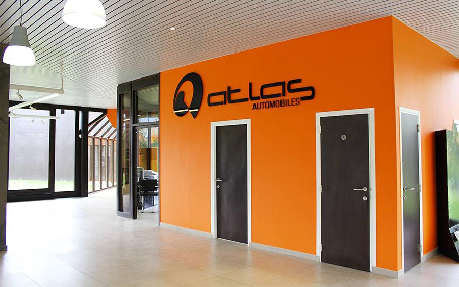 Les locaux d'Atlas Automobiles
