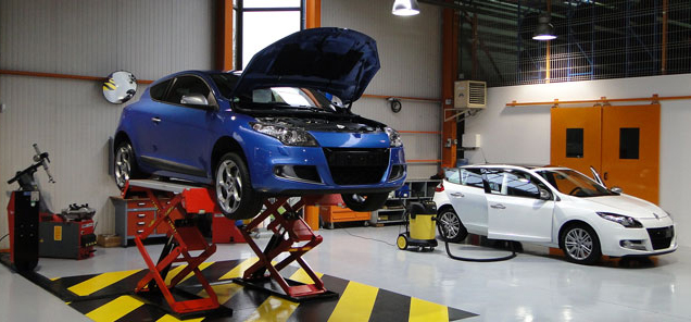 L'atelier d'Atlas Automobiles