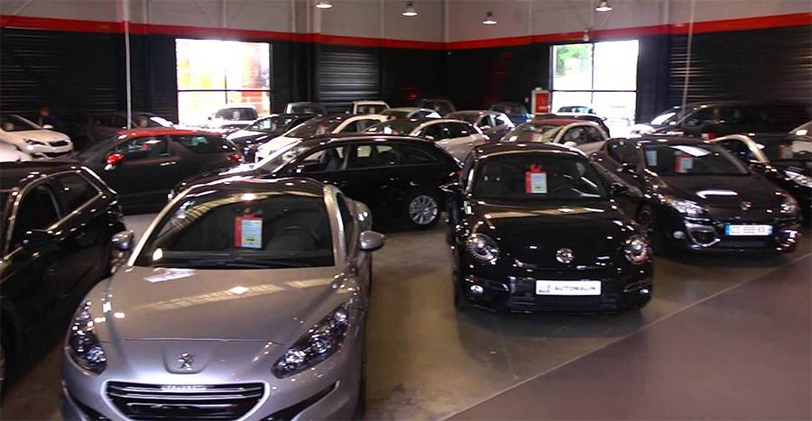 Le showroom d'Auto Malin