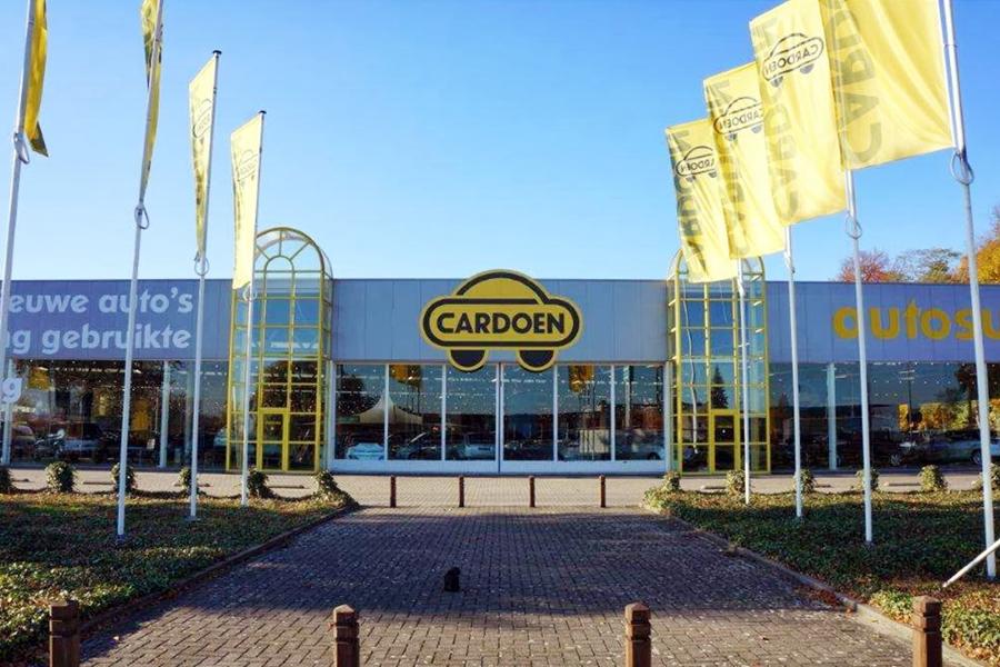 Le magasin de Cardoen à Anvers (Belgique)