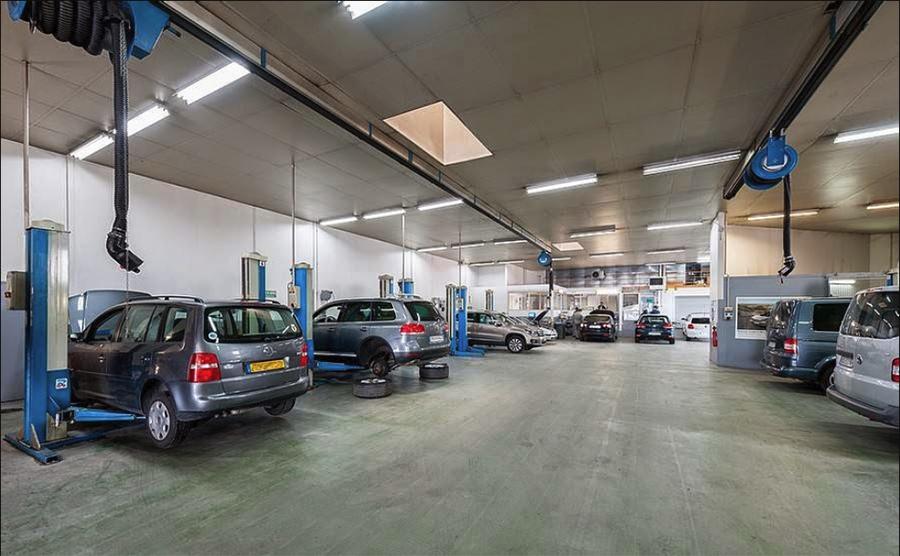 Atelier de réparation chez DBF Automobiles