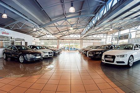 Showroom de DBF Automobiles