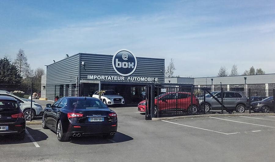 eBox Nord à Hénin-Beaumont (62)