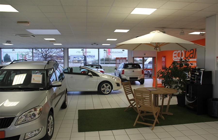 Les voitures en stock d'Ecocar