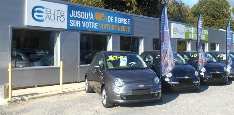 Le magasin Elite Auto d'Aix-en-Provence