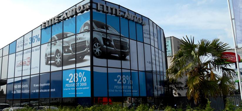 Le magasin Elite Auto de Paris