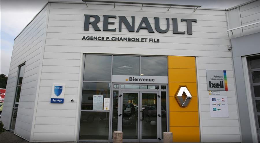 L'agence du Garage Chambon à La Grand-Croix (42)