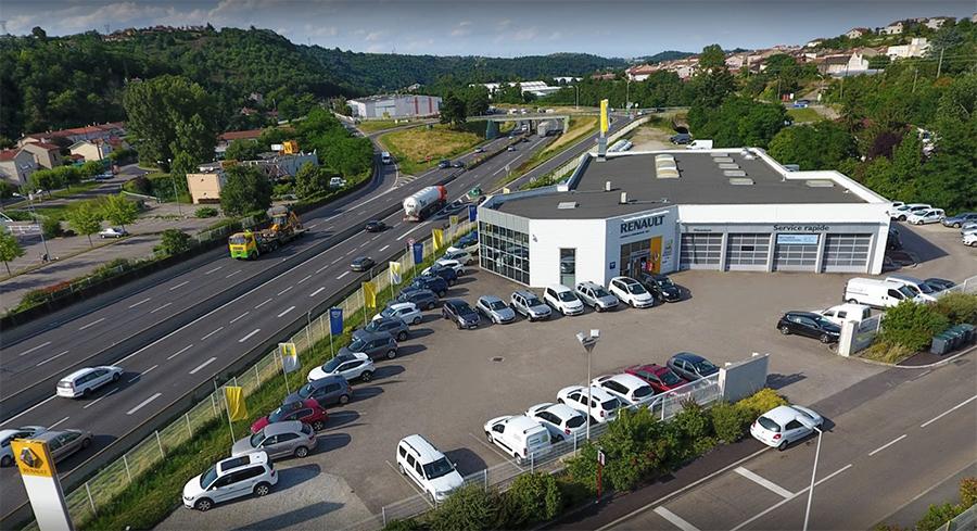 Le parc automobile du Garage Chambon à La Grand-Croix (42)