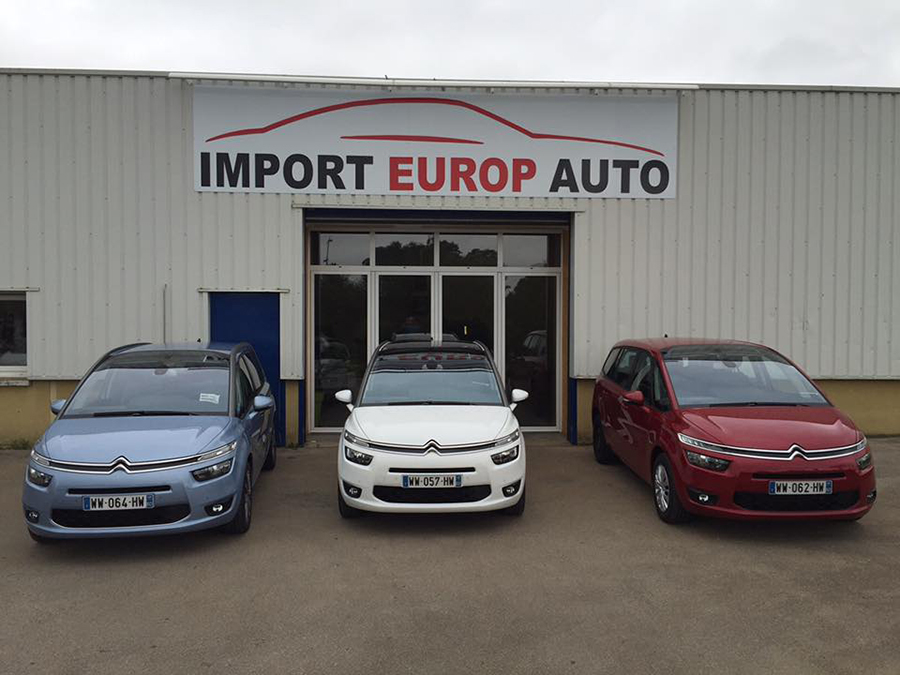 L'agence d'Import Europ Auto à Tillé (60)