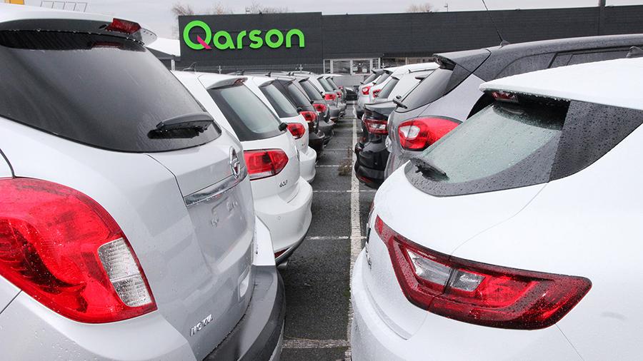 Le parc automobile de Qarson