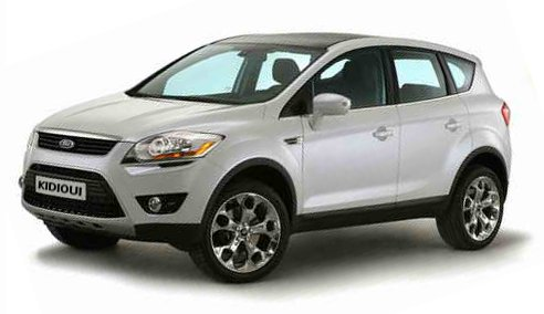 ford kuga 1 titanium 2008 2013 essais comparatif d. Black Bedroom Furniture Sets. Home Design Ideas