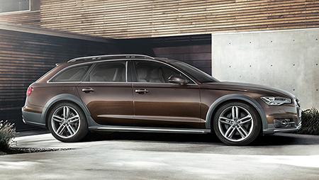 La dernière génération en date d'Audi A6 Allroad