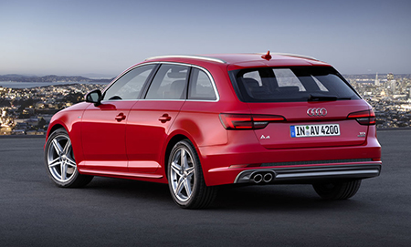 L'Audi A4 Avant, version break du best-seller de la marque