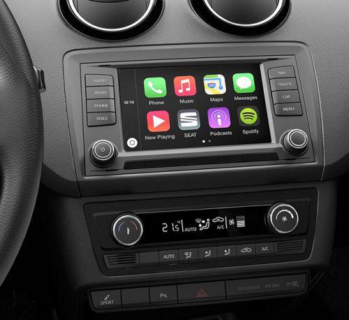 CarPlay à bord d'une Seat Leon