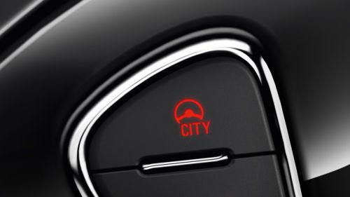 "Bouton ""City"" de l'Opel Adam"