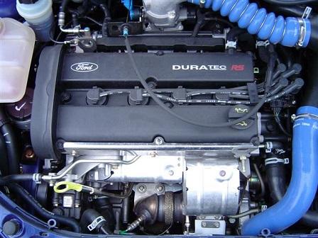 """Le moteur Duratec en version """"RS"""" sur une Focus de 215 chevaux"""