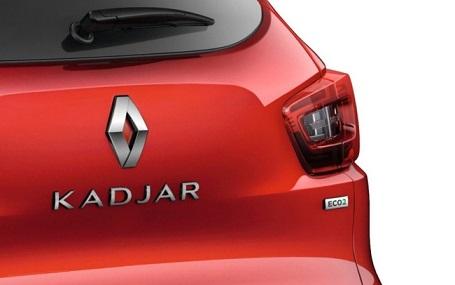 Arrière d'un Renault Kadjar labellisé eco2