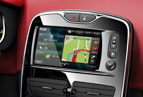 """Fonction """"GPS"""" du R-Link de Renault"""