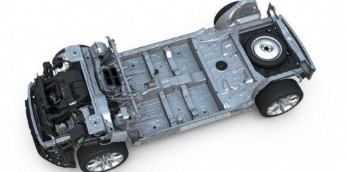 La plateforme EMP2, servant de base à tous les modèles Peugeot & Citroën