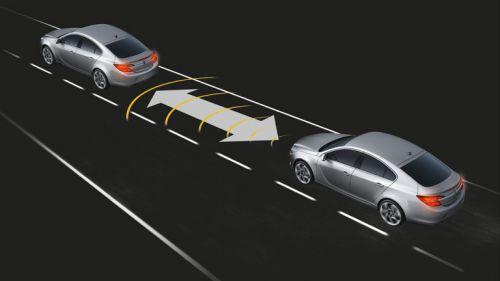 Le régulateur de vitesse adaptatif analyse le véhicule situé devant