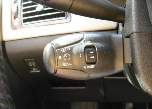Commandes pour gérer son régulateur/limiteur de vitesse