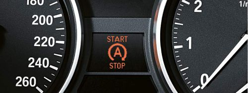 Indicateur de fonctionnement du Stop & Start sur l'instrumentation