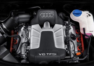 Un 3,0l V6 TFSI sous le capot d'une Audi